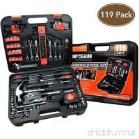 119Piece Heavy Duty Professional Home Repair Tool Kits home tool kit home repair tools Multi Tools Set  Homeowner Tool Kits  Tool Sets Kit tool kit tool set home tool kit tools - B07BLRMHLG