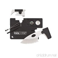 "Tool Logic Credit Card Companion with Lens/Compass CC1SB - 9 Tools  Black  2"" Blade - B0001WOKWQ"