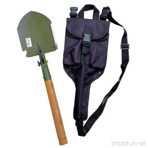 Chinese Military Shovel Emergency Tools WJQ-308 Ver 2012 with Original Waterproof Cases Bag Kit - B00AXQHZZO