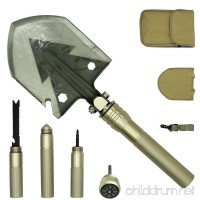 PEYOND Multi-function Folding Shovel for Camping/Adventure/Hiking/Trench Shovel/Survival Etc - B06XT2LS6Z