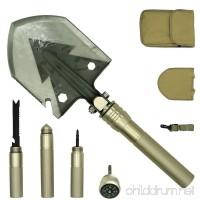 PEYOND Multi-function Folding Shovel for Camping/Adventure/Hiking/Trench Shovel/Survival Etc - B06XT2LS6Z