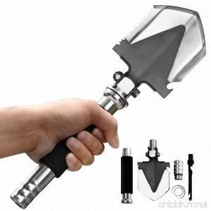 ProCIV Pocket Knife Mini Military Folding Survival Tactical Shovel Multifunctional Backpacking Shovel for Camping Outdoors - B01HTB0DYA