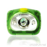 Yalumi LED Headlamp Spark Dual Lightweight 2.7 oz for camping running and hiking 3 Energizer Batteries Included Water resistantup to 90-Meter Advanced Optics 1.5X Brightness Long Battery Life - B00MU2ZWFE