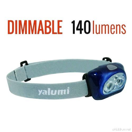 Less than 2.8 oz Yalumi LED Headlamp Spark Professional 120-lumen Floodlight//90-lumen Spotlight White//red Night Vision Electronic Wide//Narrow beam angle switching
