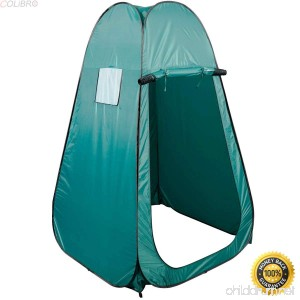 COLIBROX--Portable Pop UP Fishing & Bathing Toilet Changing Tent Camping Room Green Portable Camping Bathing Tent Camping Bathing Tent Tent Camping Room Bathing Toilet Changing Tent Camping Room - B078GY444V