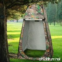 Eshion Waterproof Portable Pop Up Camping Tent Toilet Shower Changing Room Bag Outdoors - B0747JGSBJ