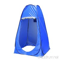HUKOER Privacy Tent Pop-up Shower Tent Portable Camping Toilet Tent Changing Fitting Room Tent with Window - B0756HWR24
