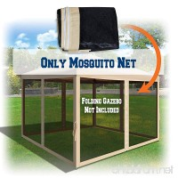BenefitUSA Canopies 10' L X 6.4' W Mesh Wall Sidewalls for Pop Up Canopy Screen Room  Pack of 4 (Walls Only) - B074MYCXJR