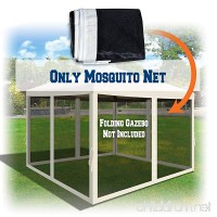 BenefitUSA Canopies Sidewalls 10' L X 6.4' W Mesh Wall for Pop Up Canopy Screen Room Pack of 4 (Walls Only) - B07B8NN2S4