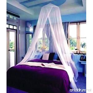 Cotmaster CIRCULAR White Mosquito Net - B00L9SCTCE