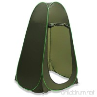 Flexzion Pop Up Dressing Tent Portable Outdoor Privacy Shelter Shower Toilet Fitting Changing Room for Camping Hiking Beach Park Mountain Area with Zippered Carrying Bag - B012AGY0JS