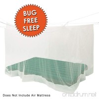 Fox Run PREMIUM MOSQUITO NET - Fits Most Size Beds  Cribs & Inflatable Mattresses – Great For Indoors And Outdoors - SLEEP BUG FREE – Includes FREE Hanging Kit & Carry Bag by Outfitters - B074431697