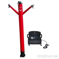 LookOurWay Air Dancers Inflatable Tube Man Complete Set with 1 HP Sky Dancer Blower - B07BSFSKCG