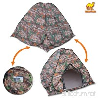 Strong Camel Portable Camouflage Camping Hiking Instant Tent pop up 2/3 Persons Mosquito Prevention Waterproof - B077NZCHY8