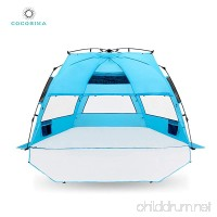 Cocorika X-Large Easy Setup Beach Tent - Automatic Pop Up 4 Person Instant Sun Shelter  Portable Sunshade - B07DV7BZQJ
