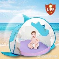 Hippo Creation Pop Up Baby Tent with UV Protection | Little Shark Shade | Breathable Beach Umbrella/Play Tent | Good for Beach and Indoor | Excellent for Infants and Toddlers - B072HT4WPR