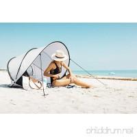 InstaPalm Portable Pop Up Cabana Beach Tent and Sun Shelter - B01NBXA566