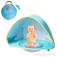 Sunba Youth Pop up Portable Shade Pool UV Protection Sun Shelter for Infant - B01KHK8O1E