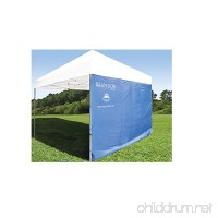 SUPERIOR SUN PROTECTION: ezShade Canopy Sunshield BLOCKS 99% UVA/UVB rays - DOUBLES shade  keeps you COOLER  and INSTANTLY ATTACHES to ANY 10x10 nylon/poly canopy  CANOPY NOT INCLUDED - B01EANBLAA