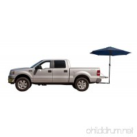 Tailbrella Tailgate Hitch Umbrella Canopy For Truck SUV Tailgater. 9FT Large Water-Resistant Tailgating Tents for Outdoor Camping  Beach  Travel  Hunting. EZ Pop Up  Umbrellas For Shade - B0755JSCT2