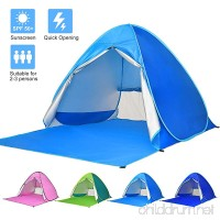 Ylovetoys Beach Tent Sun Shelter Automatic Pop Up Beach Tent Instant Beach Shade Canopy Cabana Tent Waterproof Anti UV Beach Umbrella Tent 2-3 Persons Outdoor Beach Camping Tents - B078WQ6PHF