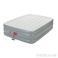 """Coleman Support Rest Queen Elite Air Bed with Built-In Pump  20"""" - B01B4K6ORW"""