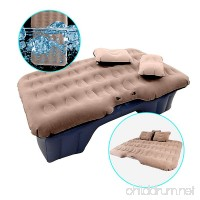 HIRALIY Car Inflatable Mattress Portable Travel Camping Air Bed Foldable Couch with Electric Pump - B07BSGVYHQ