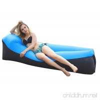 HYMY Outdoor Inflatable Lounger Couch Air Sofa Blow Up Lounge Chair Inflatable Lounger Air Couch Waterproof Protable Hammock With Travel Bag For Beach or Indoor - B07BDJCVV3