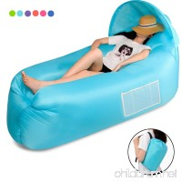 Inflatable Sofa Inflatable Lounge Chair Waterproof Portable Air Sofa/Bed/Camping Beach and Garden Leisure Sleeping Bag Outdoor Hiking Swimming Pool and Beach Parties - B07B2WBGMY