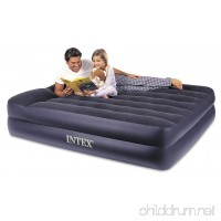 Intex Pillow Rest Raised Airbed with Built-in Pillow and Electric Pump Queen Bed Height 16.5 - B000HBMFRS
