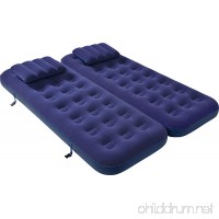 Jilong 3-In-1 Inflatable Camping Airbed Mattress - Single/Double - B00T5KYJ5I