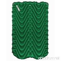 Klymit Double V Camping Sleeping Pad for Two - B0758VK63F