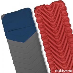 Klymit Static V2 Sleeping Pad Sheet and Pillow - B076S9N46G