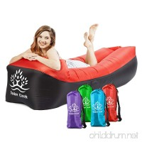 Timber Creek Inflatable Lounger Blow up Couch Air Sofa Hammock Portable Use Indoor or Outdoor to Hike Camping at Beach Picnics Festivals Backyard Lake - B07BDHDNFB